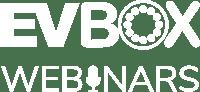 EVBox Webinars Logo White